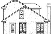 Dream House Plan - European Exterior - Rear Elevation Plan #45-102