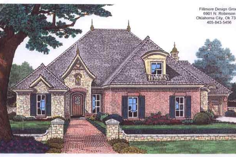 Traditional Exterior - Front Elevation Plan #310-677 - Houseplans.com