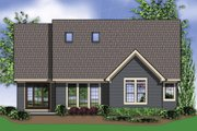 Craftsman Style House Plan - 3 Beds 2.5 Baths 2289 Sq/Ft Plan #48-553 Exterior - Rear Elevation