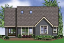 Home Plan - Rear View - 2300 square foot Traditional home