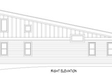 Architectural House Design - Modern Exterior - Other Elevation Plan #932-393