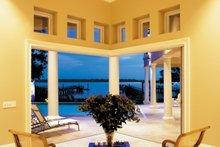 House Plan Design - Mediterranean Interior - Family Room Plan #930-86