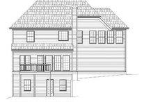 Home Plan - European Exterior - Rear Elevation Plan #119-273