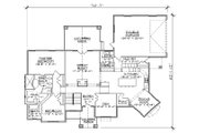 Traditional Style House Plan - 5 Beds 4 Baths 2194 Sq/Ft Plan #5-257 Floor Plan - Main Floor Plan