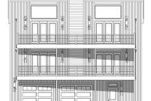 House Plan Design - Contemporary Exterior - Front Elevation Plan #932-256