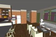 Modern Style House Plan - 3 Beds 2 Baths 976 Sq/Ft Plan #460-9