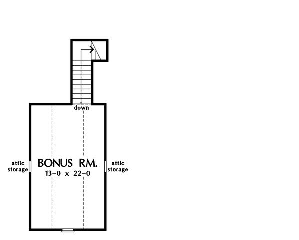 Home Plan - Bonus