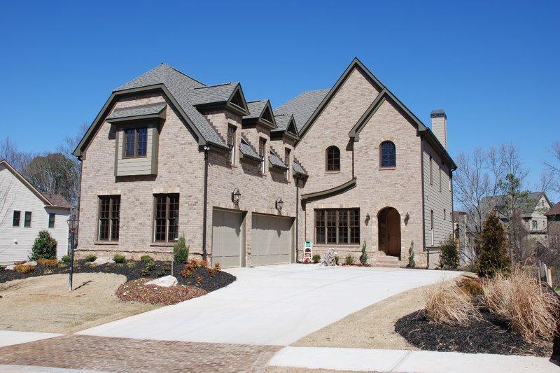 Dream House Plan - European Exterior - Front Elevation Plan #419-236