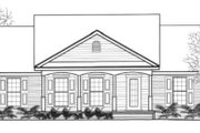 Traditional Style House Plan - 3 Beds 2 Baths 1276 Sq/Ft Plan #14-248 Exterior - Front Elevation