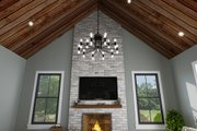 Contemporary Style House Plan - 3 Beds 3.5 Baths 2451 Sq/Ft Plan #48-1037