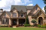 European Style House Plan - 5 Beds 4.5 Baths 4353 Sq/Ft Plan #54-101 Exterior - Other Elevation