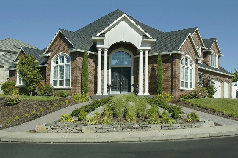 Home Plan - Contemporary Exterior - Front Elevation Plan #48-346