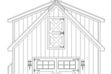 Dream House Plan - Farmhouse Exterior - Rear Elevation Plan #932-323