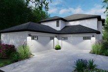 Dream House Plan - Cottage Exterior - Rear Elevation Plan #120-267