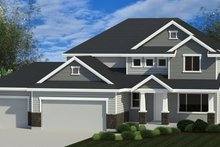 Traditional Exterior - Front Elevation Plan #920-114