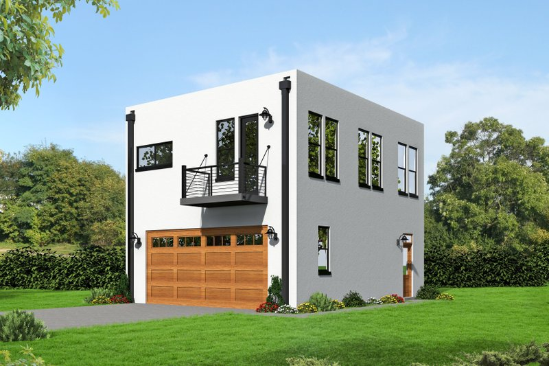 Home Plan - Southern Exterior - Front Elevation Plan #932-98
