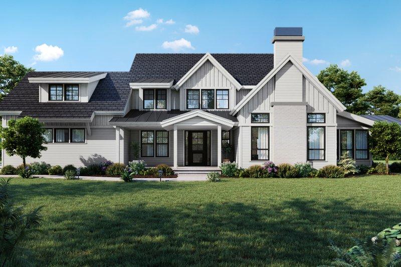 House Plan Design - Farmhouse Exterior - Front Elevation Plan #1070-113