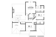 Craftsman Style House Plan - 3 Beds 2.5 Baths 2164 Sq/Ft Plan #48-109