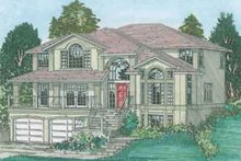 Home Plan - Traditional Exterior - Front Elevation Plan #126-134