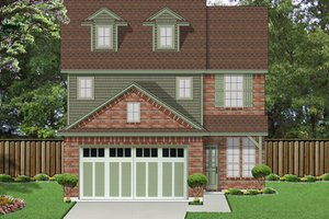 Traditional Exterior - Front Elevation Plan #84-554