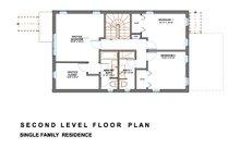 Modern Floor Plan - Upper Floor Plan Plan #535-2
