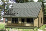 Cottage Style House Plan - 3 Beds 2 Baths 1143 Sq/Ft Plan #116-220 Exterior - Front Elevation