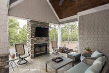 House Plan Design - Craftsman Exterior - Outdoor Living Plan #929-24