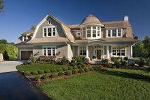 Dream House Plan - Traditional Exterior - Front Elevation Plan #56-604