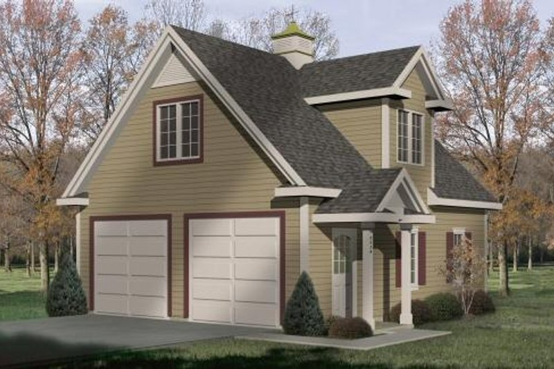 Traditional Exterior - Front Elevation Plan #22-426