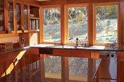 Prairie Style House Plan - 3 Beds 2.5 Baths 2979 Sq/Ft Plan #454-7 Interior - Kitchen