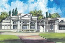 Classical Exterior - Front Elevation Plan #119-164