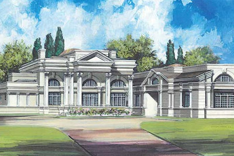 Home Plan - Classical Exterior - Front Elevation Plan #119-164