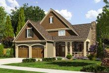 Dream House Plan - Craftsman Exterior - Front Elevation Plan #46-470