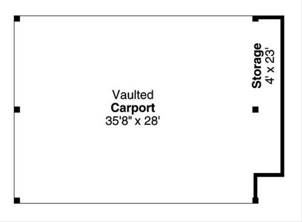 Traditional Floor Plan - Main Floor Plan Plan #124-799