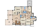 Beach Style House Plan - 5 Beds 5.5 Baths 8318 Sq/Ft Plan #27-465 Floor Plan - Upper Floor