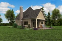 European Exterior - Outdoor Living Plan #48-1012