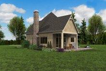 House Plan Design - European Exterior - Outdoor Living Plan #48-1012