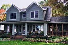 Dream House Plan - Farmhouse Exterior - Other Elevation Plan #51-306