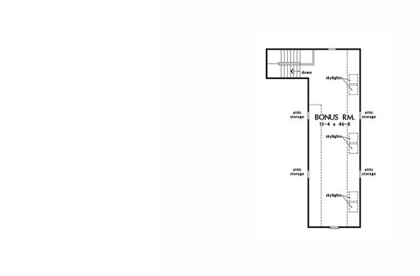 Craftsman Floor Plan - Other Floor Plan Plan #929-24