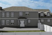 Craftsman Style House Plan - 3 Beds 2.5 Baths 7676 Sq/Ft Plan #1060-53 Exterior - Rear Elevation