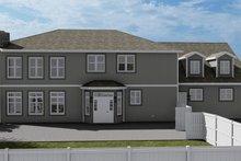 House Plan Design - Craftsman Exterior - Rear Elevation Plan #1060-53