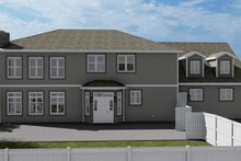 Architectural House Design - Craftsman Exterior - Rear Elevation Plan #1060-53