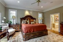 Country Interior - Master Bedroom Plan #137-148
