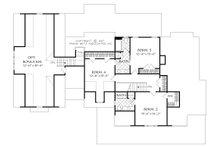 Farmhouse Floor Plan - Upper Floor Plan Plan #927-988