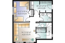 Country Floor Plan - Lower Floor Plan Plan #23-2419