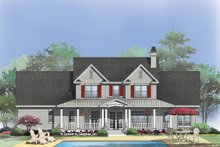 Architectural House Design - Country Exterior - Rear Elevation Plan #929-831