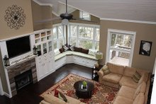 Dream House Plan - Great Room - 3150 square foot craftsman home
