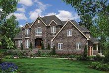 Dream House Plan - European Exterior - Front Elevation Plan #48-620