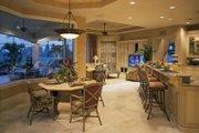 Mediterranean Style House Plan - 5 Beds 6 Baths 5816 Sq/Ft Plan #930-15 Interior - Kitchen
