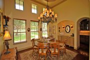 Prairie Style House Plan - 4 Beds 4 Baths 4166 Sq/Ft Plan #80-211 Interior - Dining Room